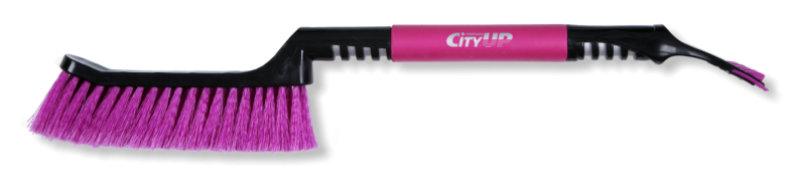 CityUp CA-76 Щётка со скребком (мяг./руч.), 59см