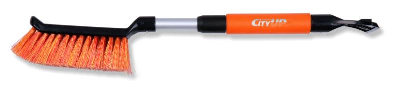 CityUp CA-81 Щётка телескоп со скребком (мяг./руч.), 54-66см